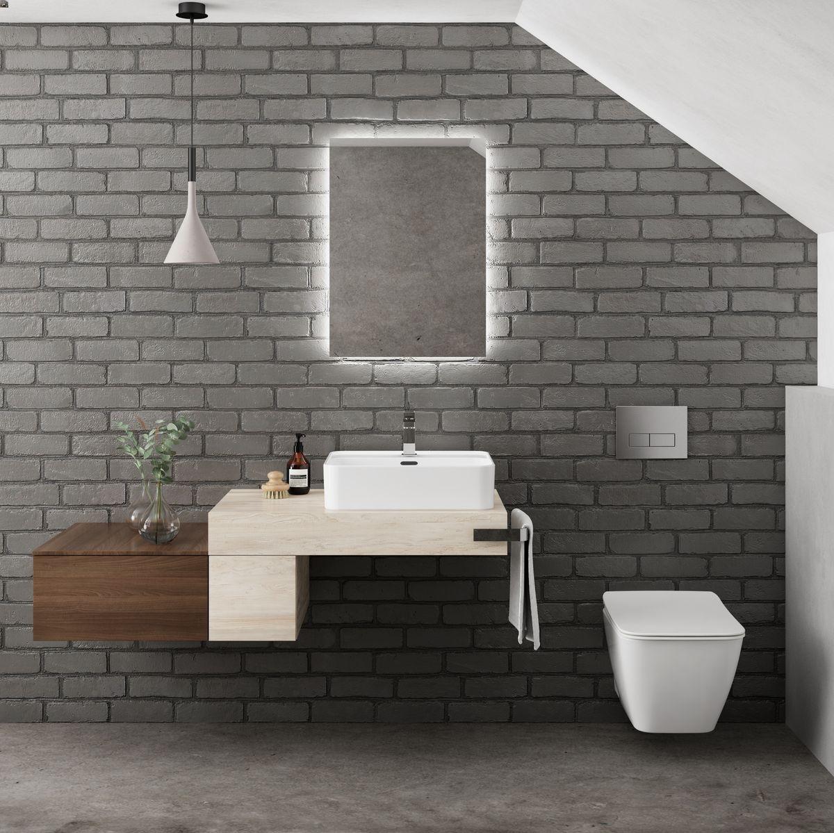 Baños modernos Ideal Standard en Oleiros