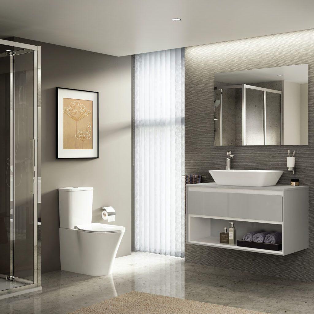 Ideal Standard, baños en Oleiros