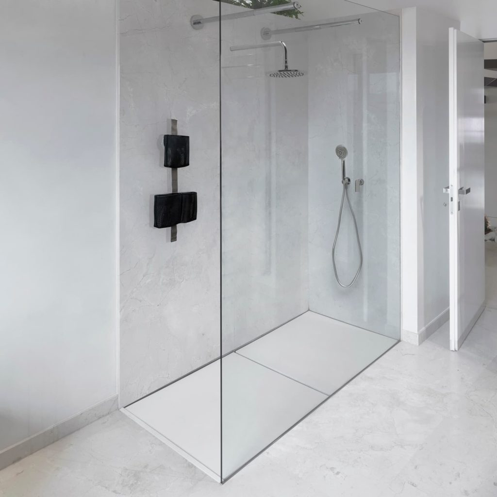 tape shower ever life design