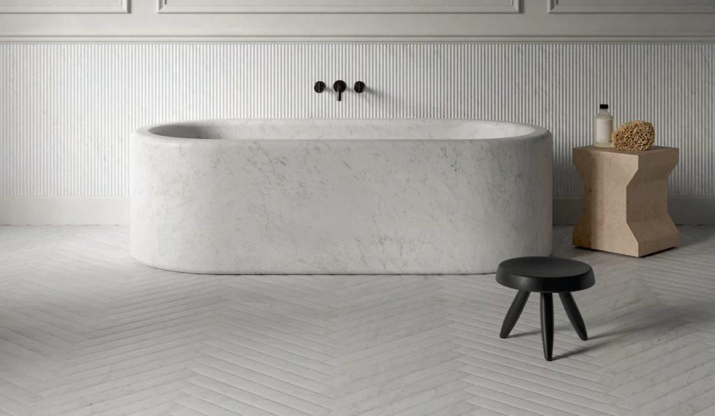 baños en marmol salvatori bañera balnea