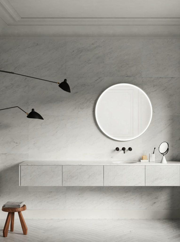 baños en marmol salvatori mueble lavabo