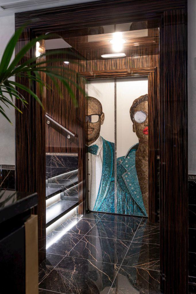 Mosaicos del siglo XXI hotel doubletree hilton