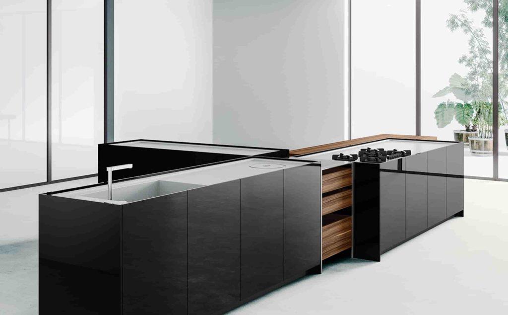 cocinas con isla central que son puro diseño