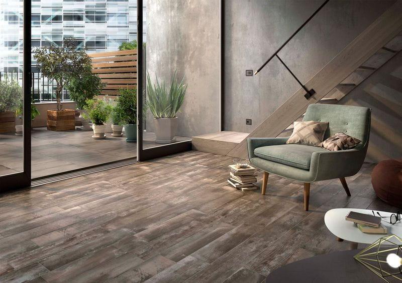 Pavimento de madera con IMOLA