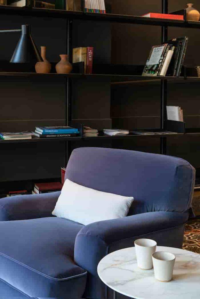 Butaca lectura en Boffi Studio, A Coruña