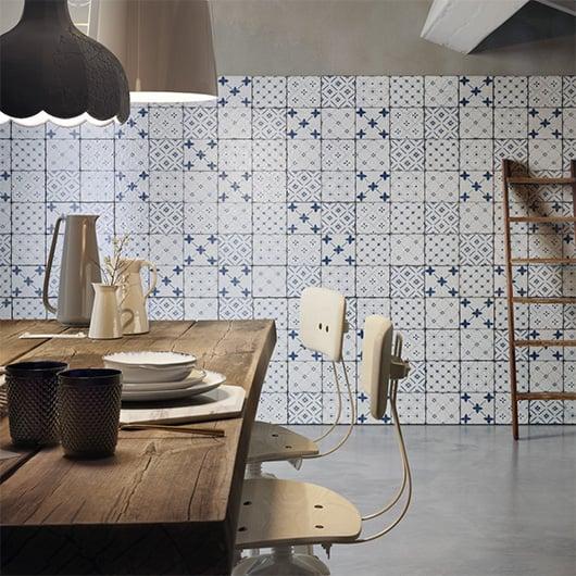 Azulejos hidráulicos para cocina en A Coruña