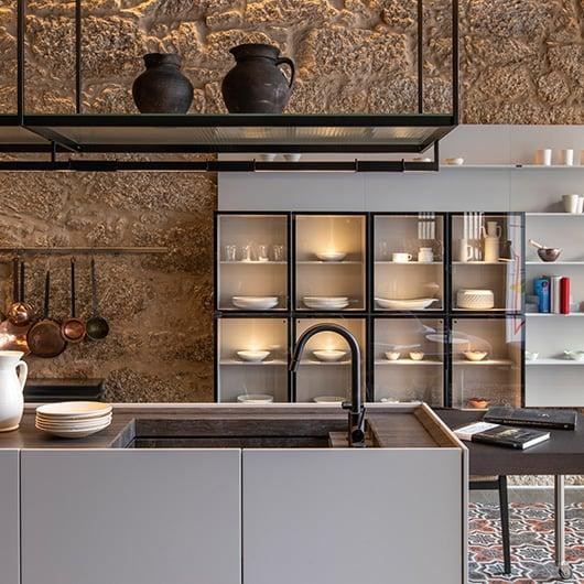 Estanterías a medida para la cocina, A Coruña